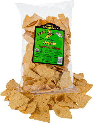 Certified Organic Tortilla Chips - Casa Sanchez SF
